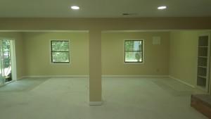 Clifton VA Basement Renovation