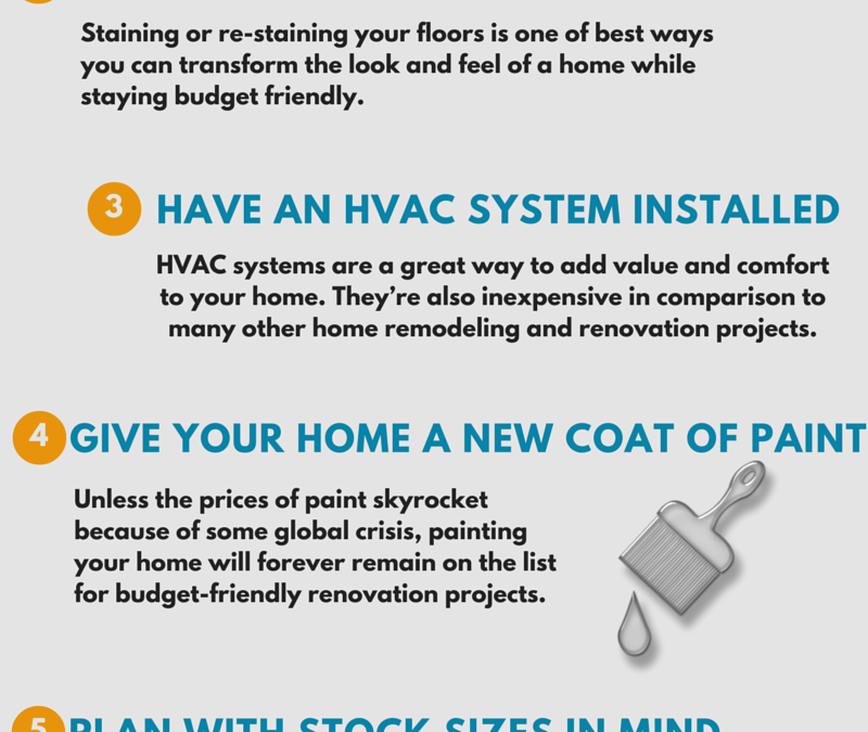 7 Tips For Renovating Your Home On A Budget