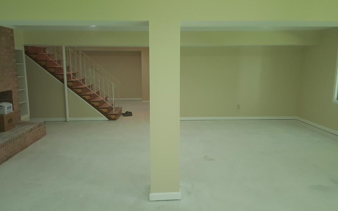 Basement Renovation Clifton VA